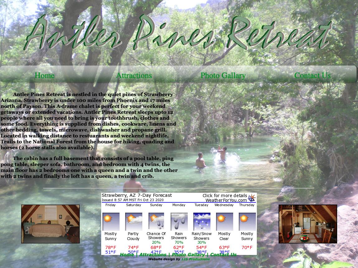 Antler Pines Retreat