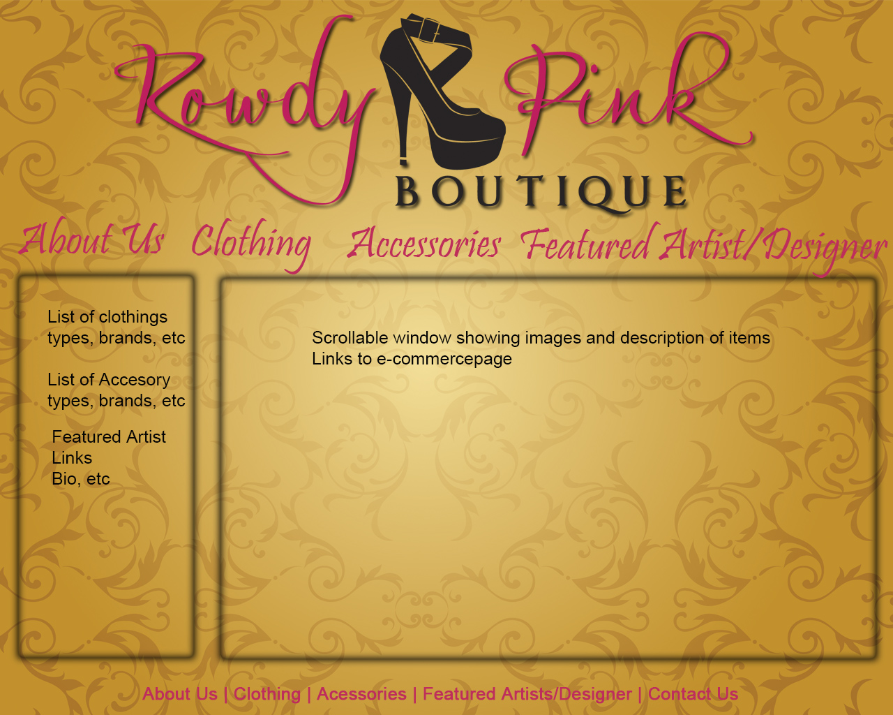 Rowdy Pink Boutique